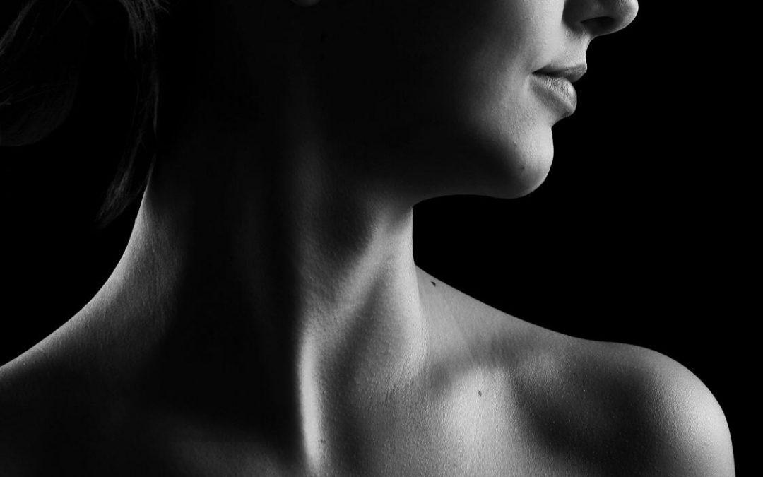 Cuidados com a pele do pescoço